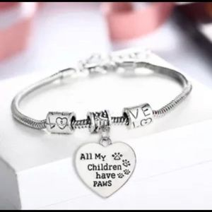 New all my children have paws bracelet